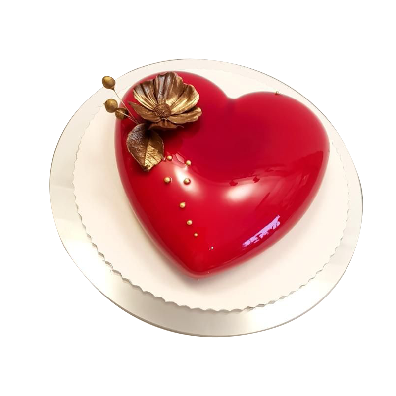 VC 025 Red Heart Cake